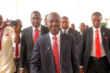 Nationwide Suspense, As President Buhari Receives The Justice Ayo Salami Probe Panel Report On Sacked And Disgraced EFCC Acting Chairman, Ibrahim Magu
