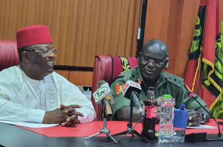 Governor Umahi Demands From Buratai, The Downsizing Of Road Blocks In The South-East, And More
