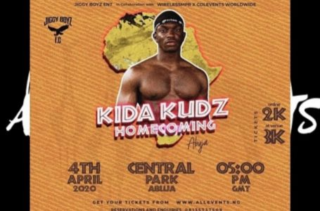 HOT EVENTS IN ABUJA: Kida Kudz Homecoming