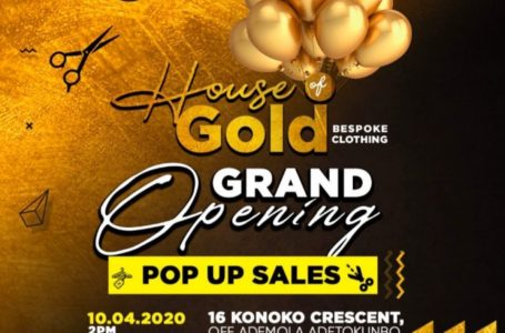 HOT EVENTS IN ABUJA: House Of Gold Grand Opening