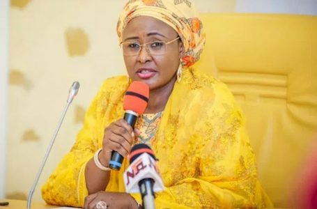 The Fearless And Unseen First Lady, Aisha Buhari, Condemns The Recent Rising Insecurity And Abductions Going On Under President Buhari's Watch