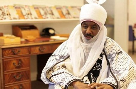 Muhammad Sanusi II Calls On The Youths Nationwide Not To Rely On The Government, But To Create Opportunities For Themselves