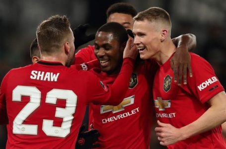 BREAKING: Nigeria's Odion Ighalo Continues To Shine Bright With Goals For Manchester United, Scores 1st Goal To Defeat Norwich