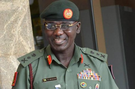 Former Chief Of Army Staff, Lt.-Gen. Tukur Buratai, Boasts That He Left The Nigerian Army Better Than He Met It In 2015, Says It Is Very Difficult To Say Goodbye