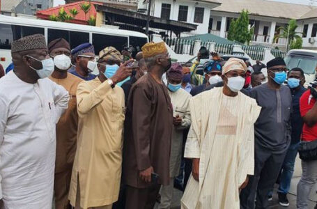 South-West Governors, Ministers, Arrive Lagos, To Commiserate With Governor Sanwo-Olu, Refuse To Visit Families Of Deceased Peaceful EndSARS Protesters