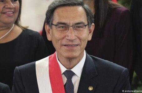 Unlike Nigeria's Failed President Buhari, President Of Peru, Manuel Merino, Tenders Resignation Letter, Following Mass Street Protests