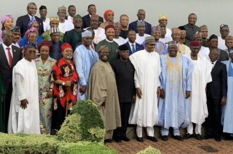 Great Tension, As Some Highly Placed Ministers Get Accused Of Surrendering To The Nefarious Activities Of Miscreants And Mischief Makers, Bent On Destroying Nigeria