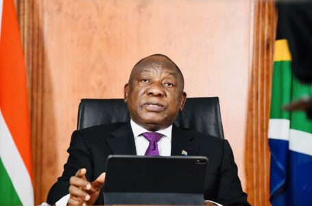 BREAKING: South African President, Cyril Ramaphosa, Announces A Ban In The Sale Of Alcohol, As Covid-19 Cases Hit 1 Million