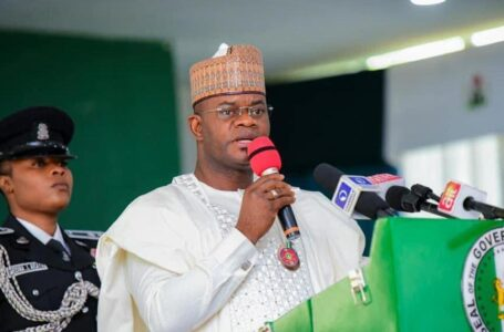 Kogi State Governor, Yahaya Bello, Reveals That Funds Meant For Development, To Fight Insecurity, Are Being Siphoned Under Buhari's Watch