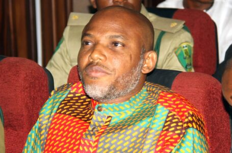 IPOB Leader, Nnamdi Kanu, Mocks President Muhammadu Buhari's Government For Moving Navy Institute To A Desert In Kano State, Says One Of The Worst Calamities Ever To Befall Any Man Or Beast, Is To Be Born A Nigerian