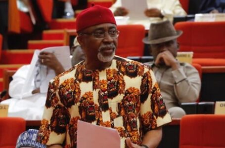 The Fearless Senator Enyinnaya Abaribe Declares That IPOB Leader, Nnamdi Kanu, Did Not Jump Bail, But Escaped For His Dear Life From The Hands Of The Nigerian Army Under Former COAS Tukur Buratai Sent To Kill Him Allegedly, Says There Is A Big Difference