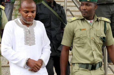 TEARS!!! IPOB Leader, Nnamdi Kanu, To Be Dragged To Court On Monday, July 26, After His Lawyer Boasted That His Terrorism Trial Will Never Hold
