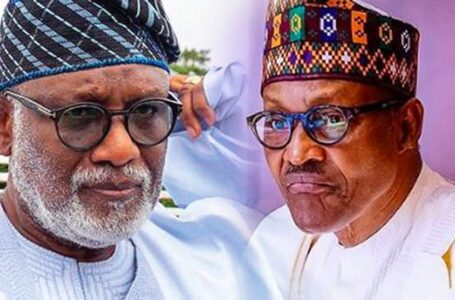 Ondo State Governor, Rotimi Akeredolu, Says President Muhammadu Buhari Is Running Nigeria Like A Military Government, Rather Than A Federal Government, With Too Much Dictatorship To The States That He Forgets We Are In A Democracy, Continues To Fight For States' Right Over Their VAT