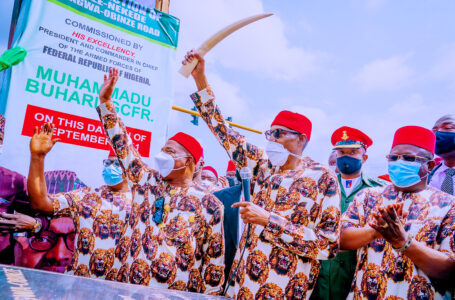 BREAKING: Presidency Explains What President Buhari Really Meant When He Said He Will Be Careful With Governor Hope Uzodinma's Future Invitations To Imo State And Igboland, Says The President Did Not Mean Any Harm, But Was Over Filled With Love And Enthusiasm