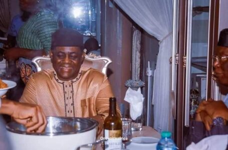 'Hungry And Broke' Femi Fani-Kayode Refuses To Return Back To PDP, Despite All The Criticisms And Reminder Of His Past Words Against APC And President Muhammadu Buhari, Continues To Wine And Dine With APC Chieftains Without Any Shame
